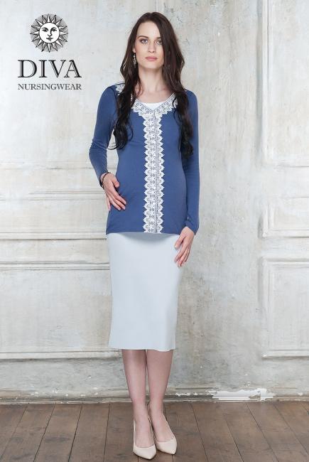 Кардиган для кормящих и беременных Diva Nursingwear Enrica, цвет Infinito