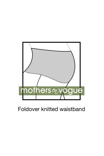 Брюки для беременных и кормящих Mothers en Vogue Weekender Pants, цвет серо-бежевый