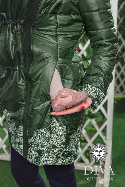 Демисезонная слингокуртка 4 в 1 Diva Outerwear Pino