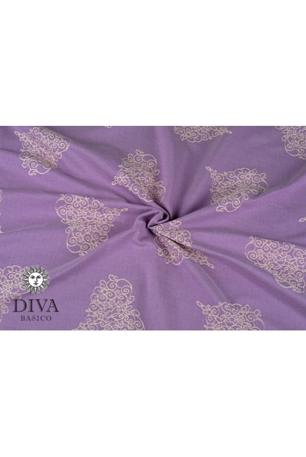 Слинг с кольцами Diva Basico, Lavanda
