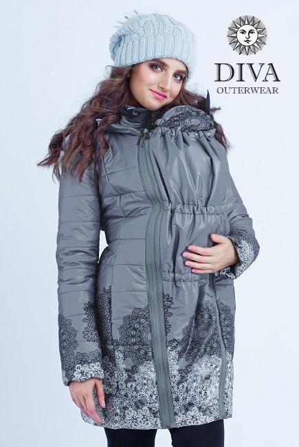 Слингокуртка демисезонная 4 в 1 Diva Outerwear Pietra
