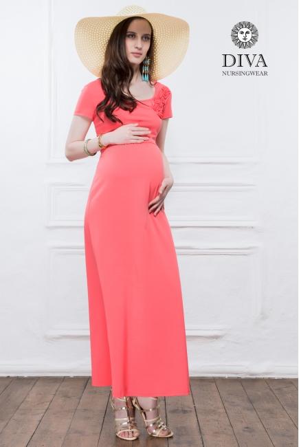 Платье для кормящих и беременных Diva Nursingwear Dalia, цвет Menta