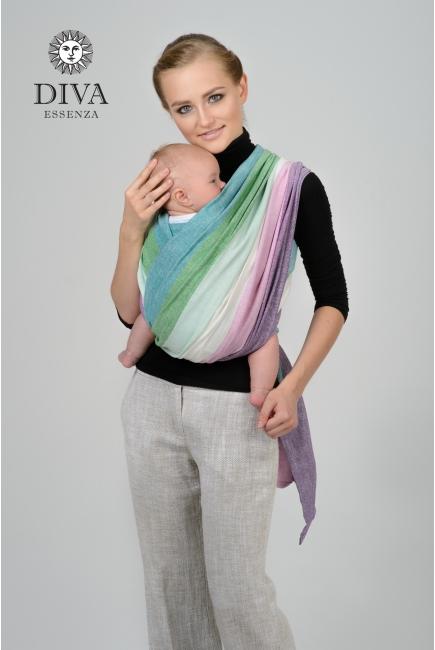 Слинг-шарф двойного диагонального плетения Diva Essenza, Sirena