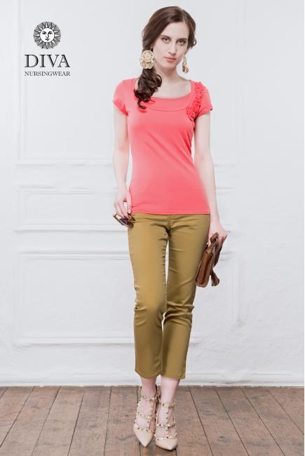 Топ для кормления Diva Nursingwear Dalia, цвет Corallo