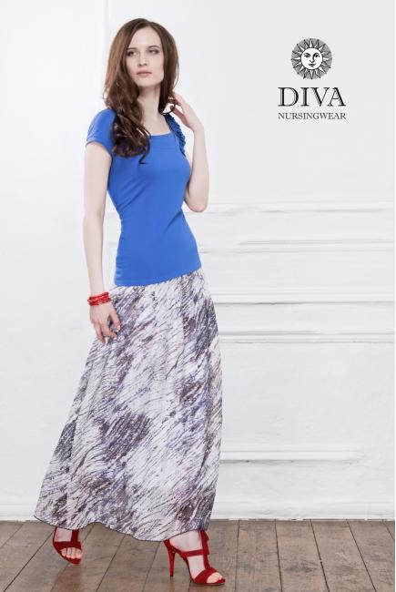 Топ для кормления Diva Nursingwear Dalia, цвет Azzurro