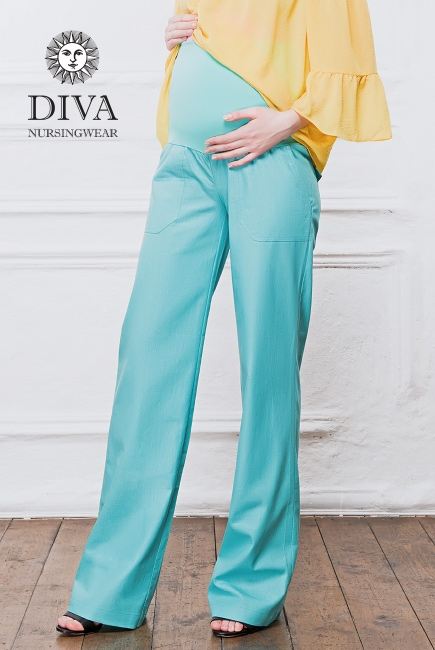 Брюки для беременных и кормящих Diva Nursingwear Deborah, Menta