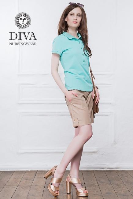 Шорты для беременных и родивших Diva Nursingwear Deborah, Grano