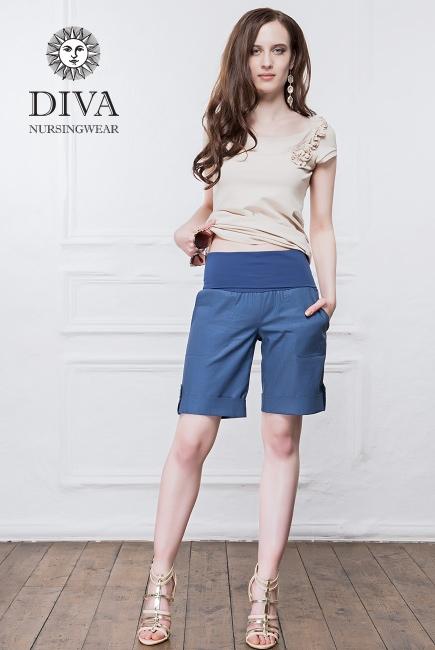 Шорты для беременных и родивших Diva Nursingwear Deborah, Notte