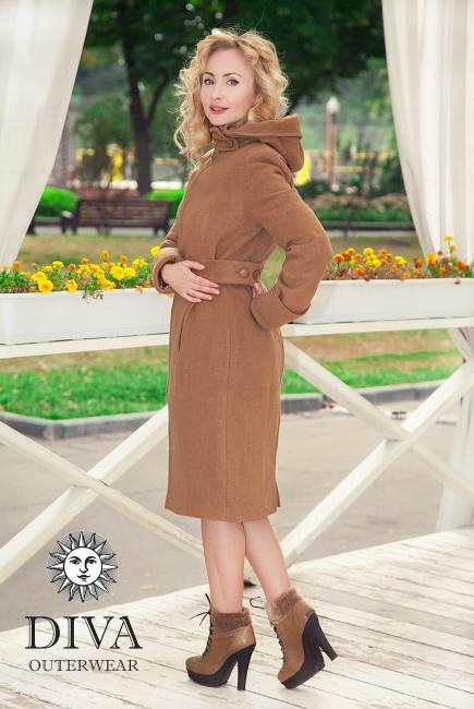 Слингопальто демисезонное Diva Outerwear Camello
