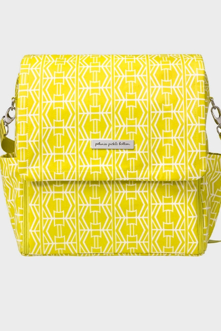 Сумка для мамы Petunia Boxy Backpack: Electric Citrus