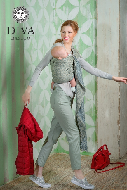 Слинг с кольцами Diva Basico, Damasco