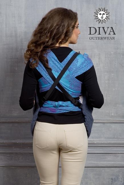Слингонакидка из шерсти Diva Outerwear NotteСлингонакидка из шерсти Diva Outerwear Notte