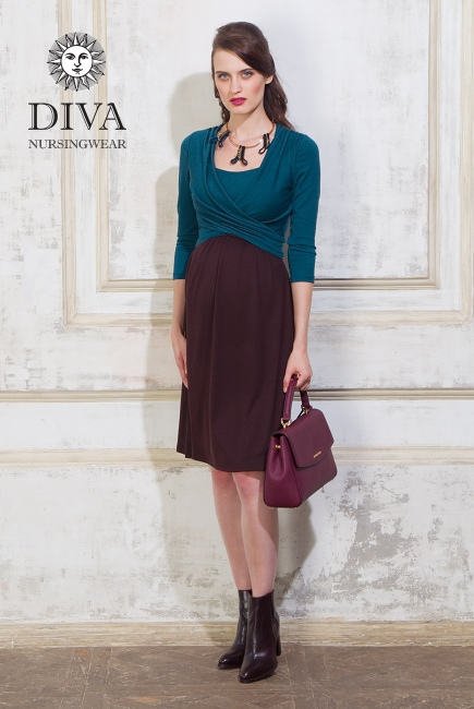 Платье для кормящих и беременных Diva Nursingwear Ornella, Libellula