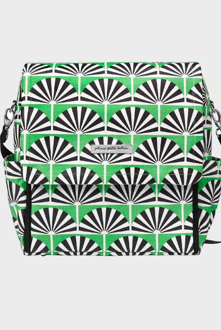 Сумка для мамы Petunia Boxy Backpack: Playful Palm Springs