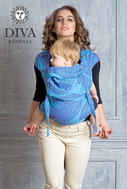 Май-слинг Diva Essenza Celeste, размер Toddler
