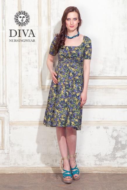 Платье для кормящих и беременных Diva Nursingwear Stella, Giardino