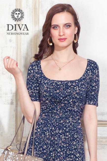 Платье для кормящих и беременных Diva Nursingwear Stella, Pastorale