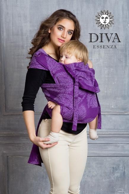 Май-слинг Diva Essenza, Viola, размер Toddler