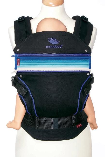 Эрго-рюкзак Manduca, Blackline синий