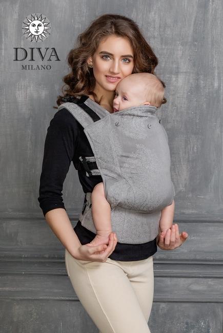 Эрго-рюкзак Diva Essenza Argento