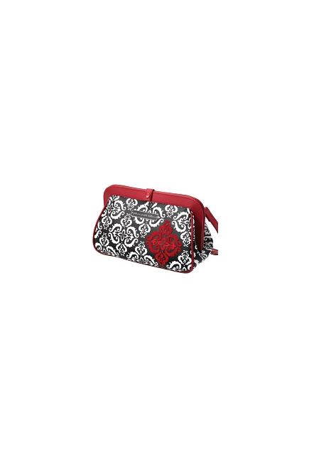 Petunia Cross Town Clutch: Frolicking in Fez