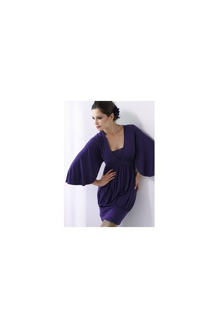 """Туника-платье Mothers en Vogue """"Coco Ono"""", фиолетовый"""