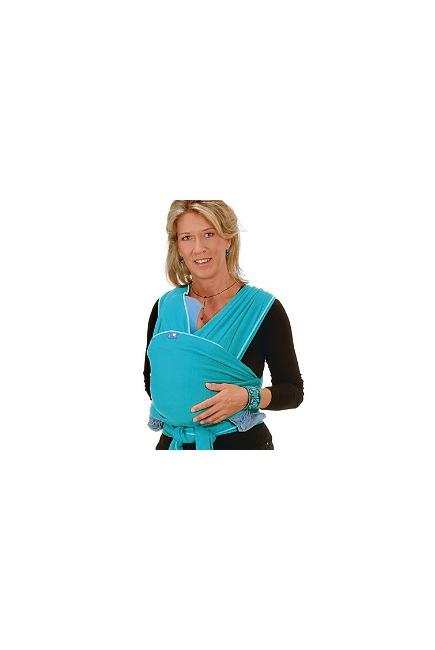 Слинг-шарф Hoppediz трикотажный, цвет бирюзовый (turquoise)