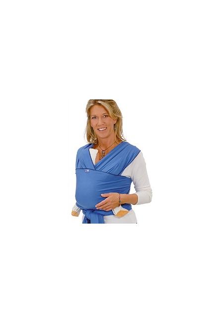 Слинг-шарф Hoppediz трикотажный, цвет голубой (ice-blue)