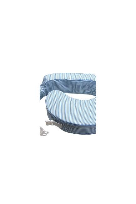 """Подушка для кормления """"Голубые полосы"""""""