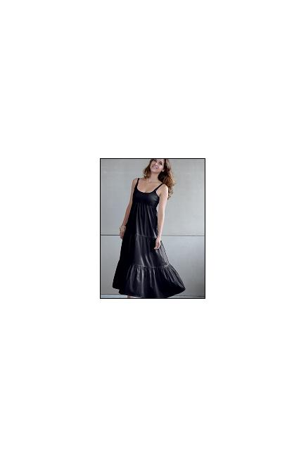 """Платье Mothers en Vogue """"Getaway Maxi"""", цвет черный"""