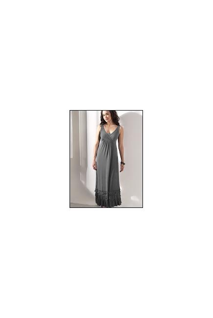 """Платье Mothers en Vogue """"Havanna Maxi"""", цвет серый"""