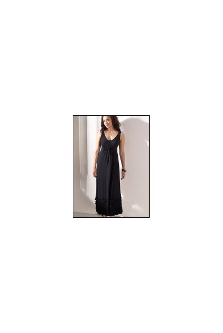 """Платье Mothers en Vogue """"Havanna Maxi"""", цвет черный"""
