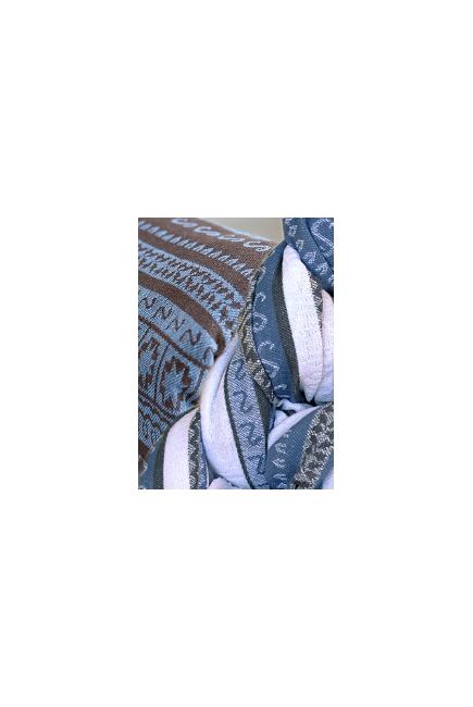 Май-слинг Ellevill Zara Deli/ Zara Tricolor Blue
