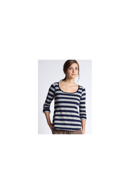 Топ для кормления Mothers en Vogue Painter Stripe Tee
