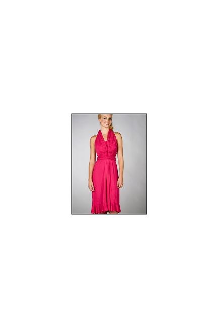 "Платье для кормления MaternaLove ""Goddess Convertible"", цвет фуксия"