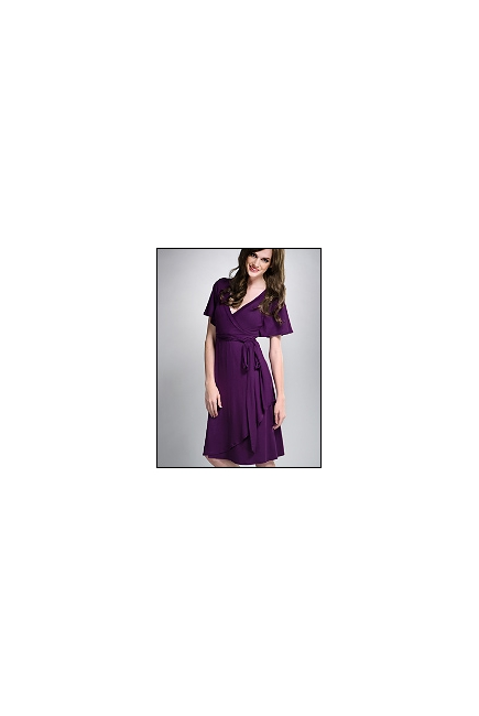 """Платье для кормления MaternaLove """"Isabella"""", фиолетовый цвет"""