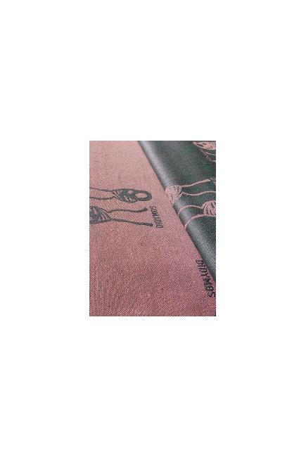 Слинг-шарф Didymos, Nino Rose (нино серо-розовый)