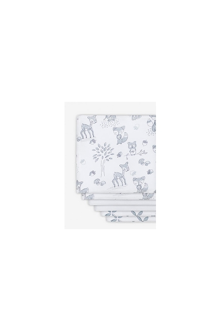 Комплект муслиновых пеленок для новорожденных Jollein, Forest friends