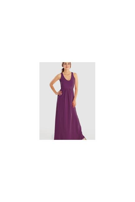 Платье для кормящих Must Have V-Neck Maxi, Amethyst
