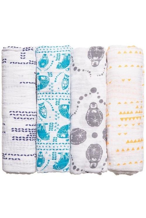 Муслиновые пеленки для новорожденных купить