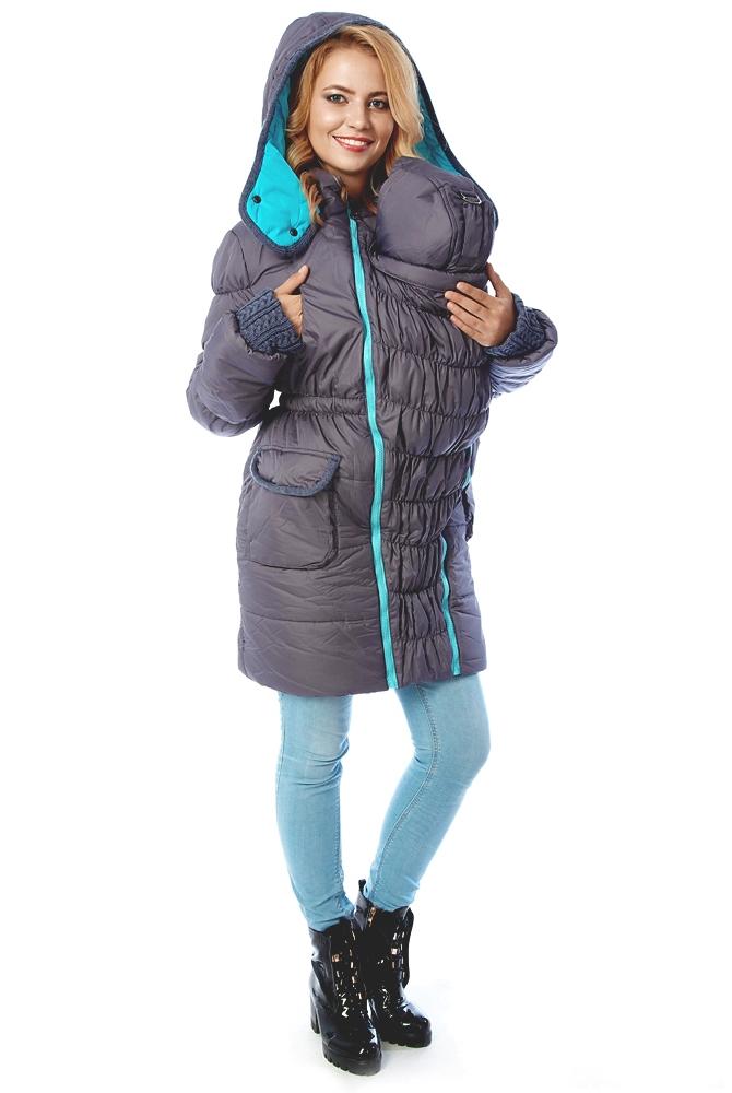 Зимняя куртка для беременных 3 в 1 21